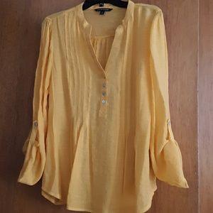 Golden yellow top